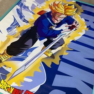 VTG Dragon Ball Z Trunks 2001 Rare Poster! Amazing